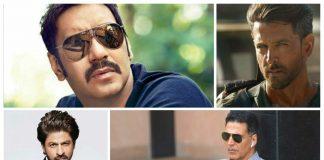 Ajay Devgn, Akshay Kumar, Sharukh Khan, Amitabh Bachchan, Hema malini