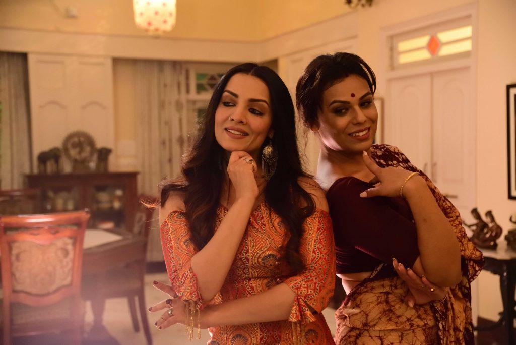 Celina and Shree Ghatak