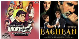90's Bollywood movies