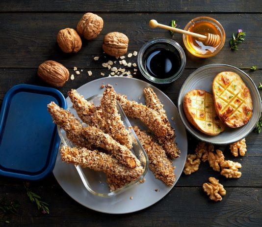 Chicken With Walnut Sauce