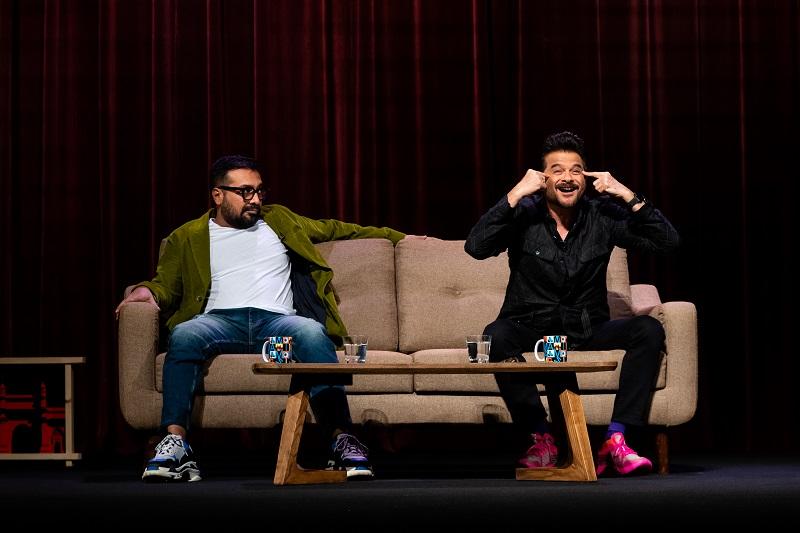 Anurag Kashyap and Anil Kapoor for AK vs. AK_Netflix