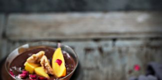 Dark Chocolate Pumpkin California Walnut Oat Pudding