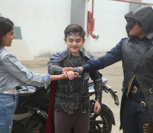 Nakabposh Baalveer and Ananya form a team on Sony SAB's Baalveer Returns