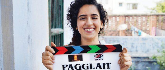 Sanya Malhotra in Pagglait