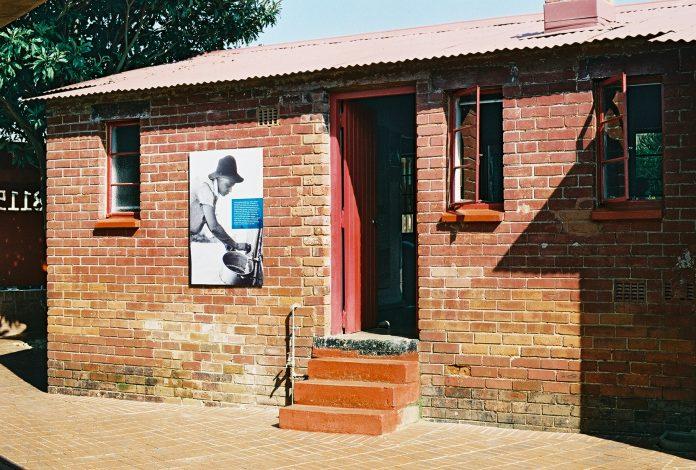 Mandela House - Backdoor