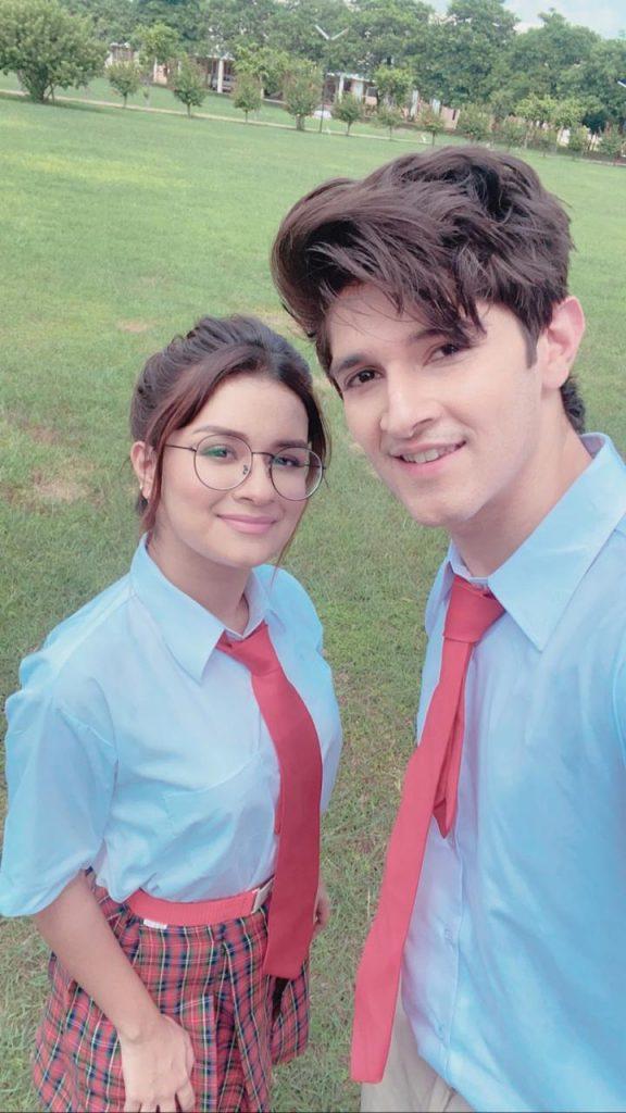 Avneet Kaur and Rohan Mehra