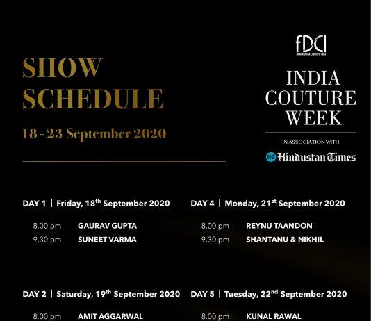 ICW 2020 - Show Schedule