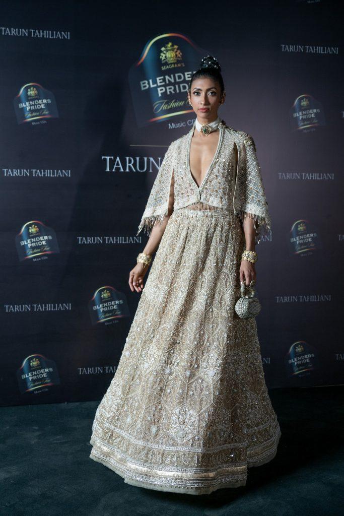 Model Lakshmi Rana at Blenders Pride Fashion Tour X Tarun Tahiliani