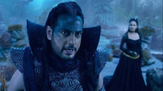 Vimarsh Roshan as Baambaal and Shweta Khanduri as Milsa in Sony SAB's Baalveer Returns