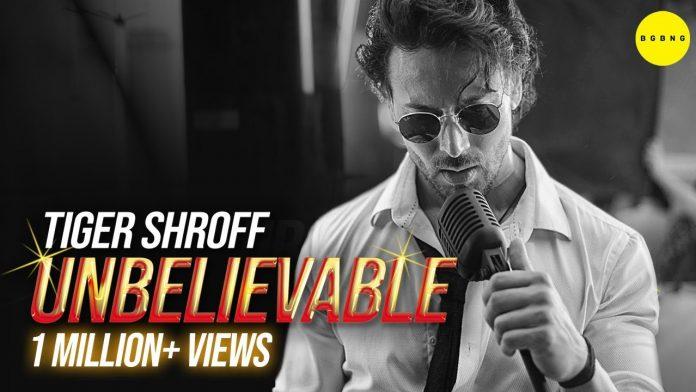 'Unbelievable' Tiger Shroff
