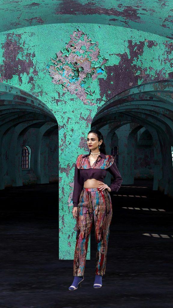 Aisha Rao at LFW 2020 (11)
