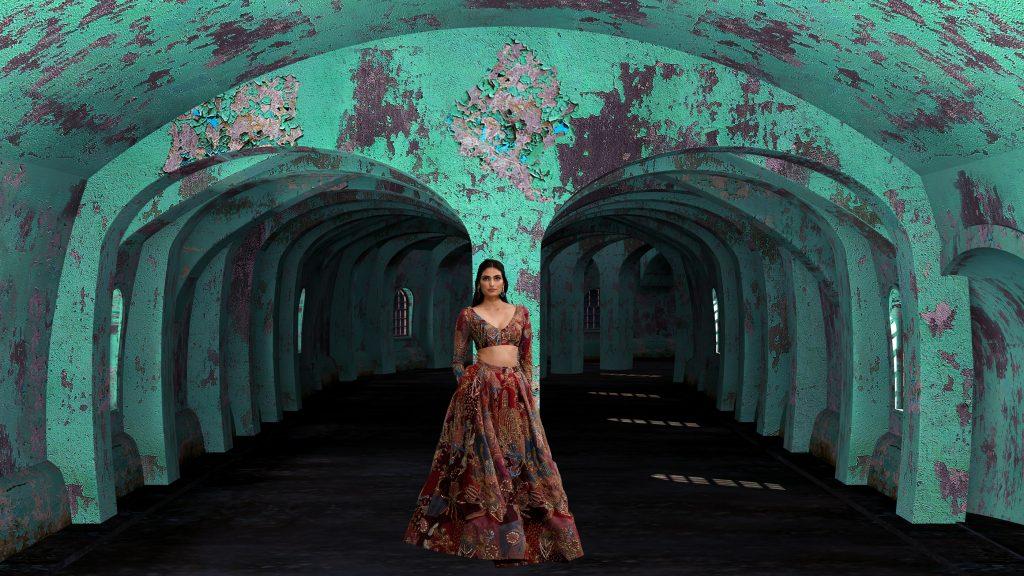AISHA RAO I PUNIT BALANA during the Lakme Fashion Week Winter/Festive 2020 at St. Regis in Mumbai, India on 25th October 2020  Photo : FS Images / Lakme Fashion Week / IMG Reliance