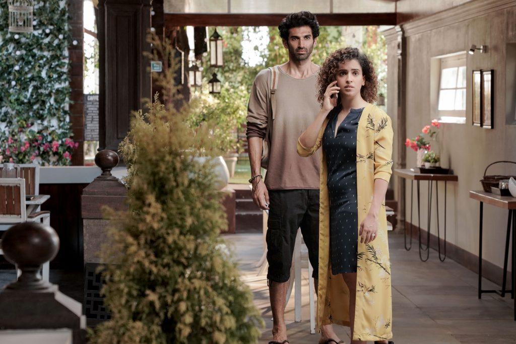 LUDO_Aditya Roy Kapur and Sanya Malhotra_NETFLIX