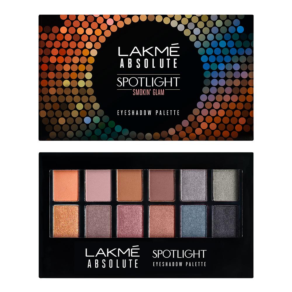 Lakme Absolute Spotlight Eyeshadow Palette - Smokin Glam