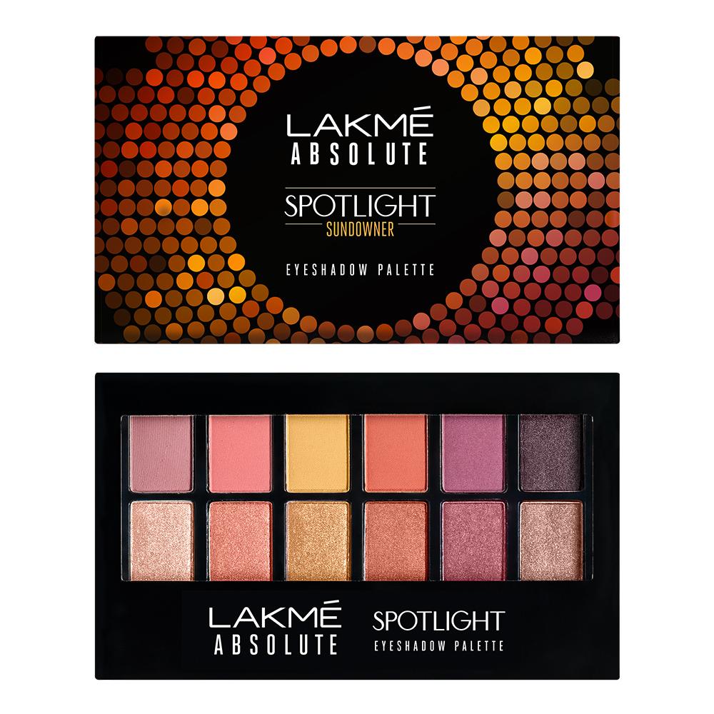 Lakme Absolute Spotlight Eyeshadow Palette - Sundowner