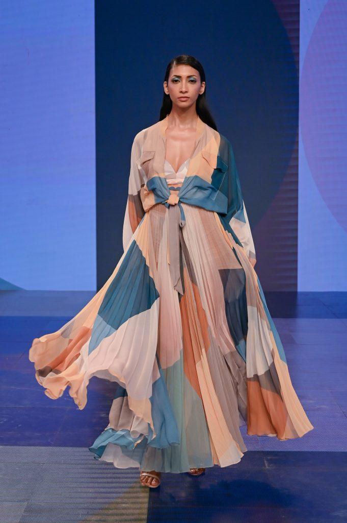 R|ELAN PRESENTS PANKAJ & NIDHI Collection at The Lakme Fashion Week Winter/Festive 2020 at St. Regis in Mumbai, India on 22nd October 2020.  Photo :Vaqaas Mansuri / FS Images / Lakme Fashion Week / IMG Reliance