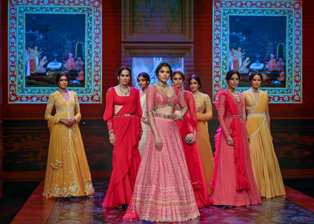 designer Ridhi Mehra Collection at The Lakme Fashion Week Fluid Edition 2020 at St. Regis in Mumbai, India on 24th October 2020.  Photo :Vaqaas Mansuri / FS Images / Lakme Fashion Week / IMG Reliance