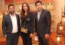 L to R- Mr Divyanshu Tyagi, GM, Ms Ritika Bahl, CMO and the spokesperson at Annakoot, and Mr. Amit Juneja CEO and MD of Annakoot