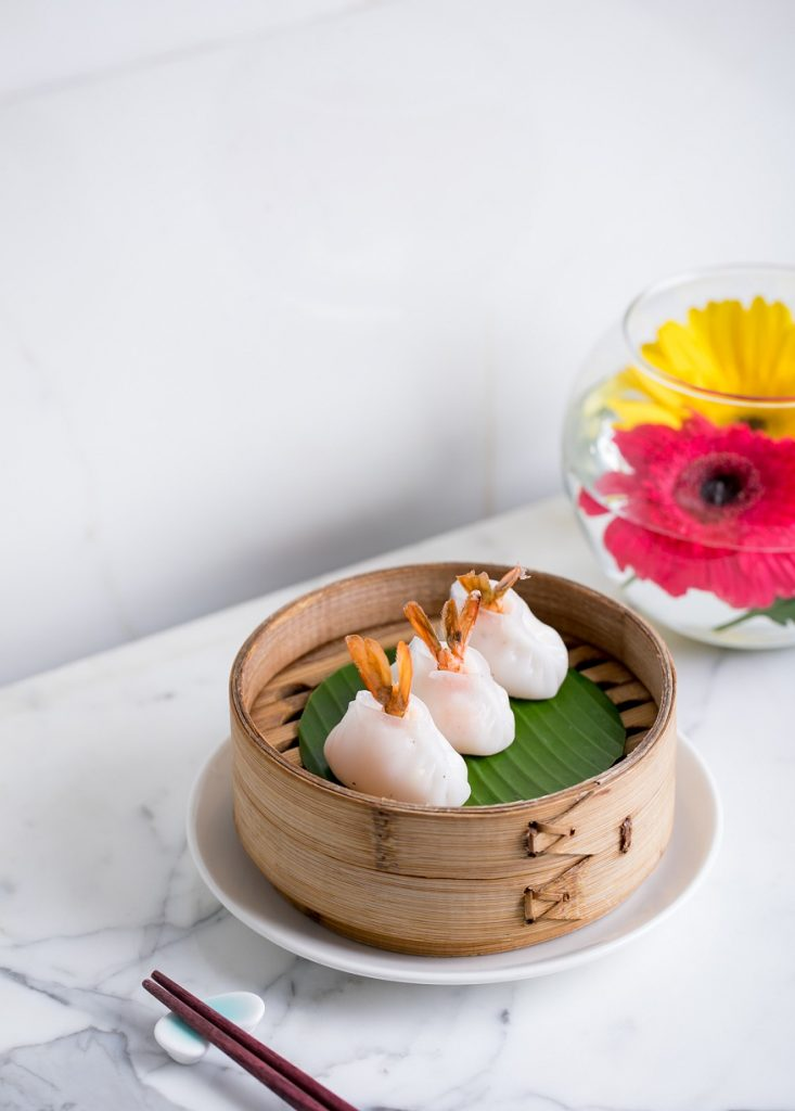 Prawn and Gondhoraj lime dumpling