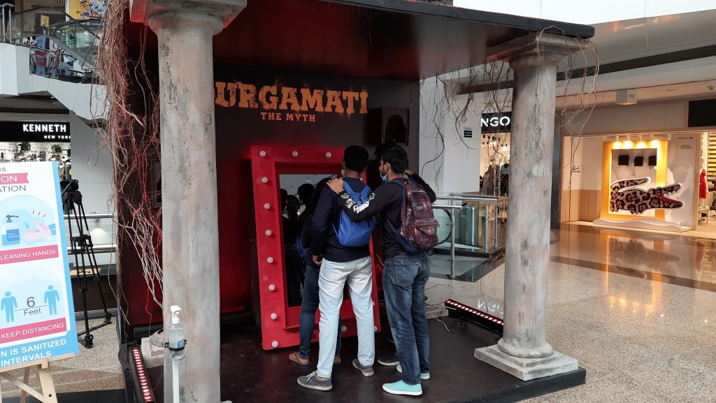 'Magic Mirror' installations to introduce 'Durgamati'to the audience