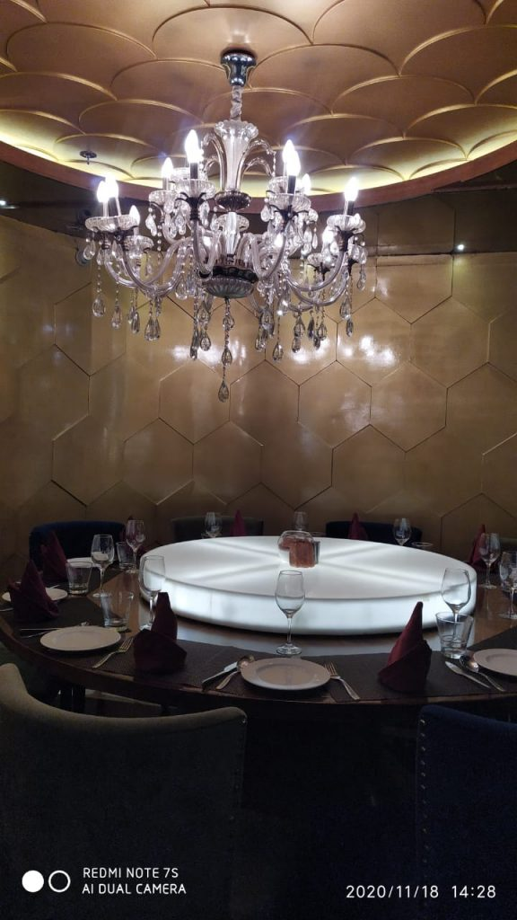 The Dine room