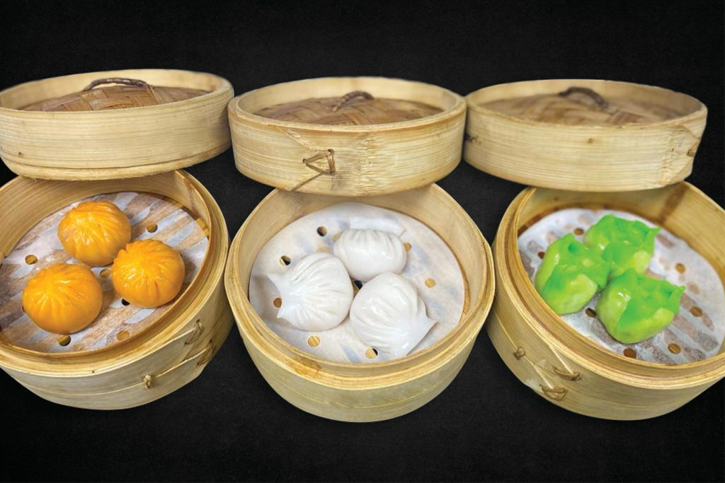 Tri Colour Dimsum - Royal China