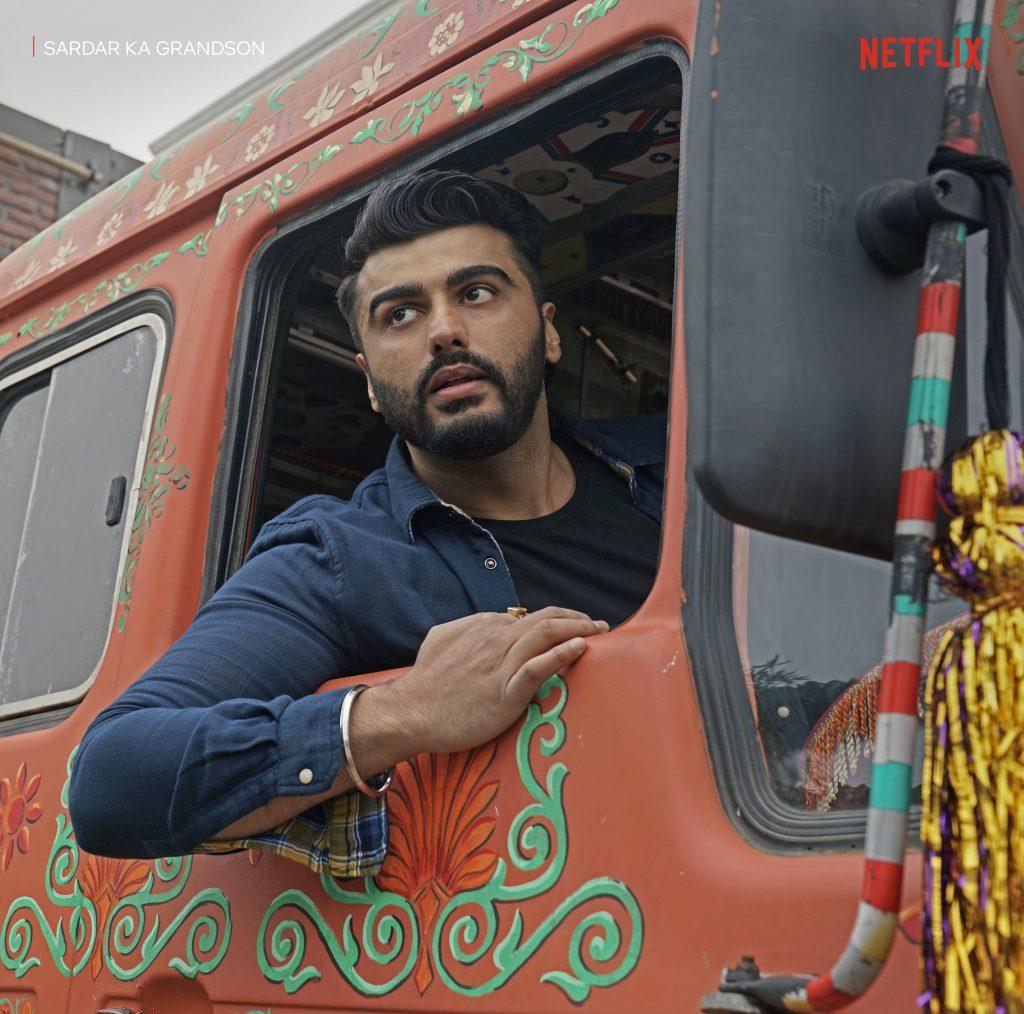 Sardar Ka Grandson_Netflix_Arjun Solo 3