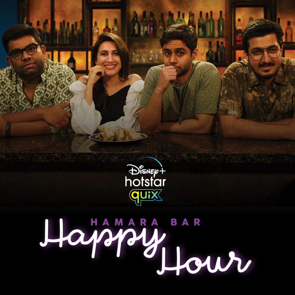 Humara Bar Happy Hour_Poster