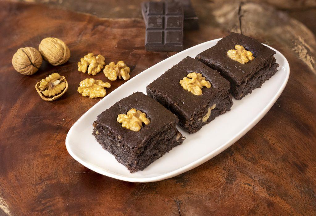 Walnut Chocolate Burfi