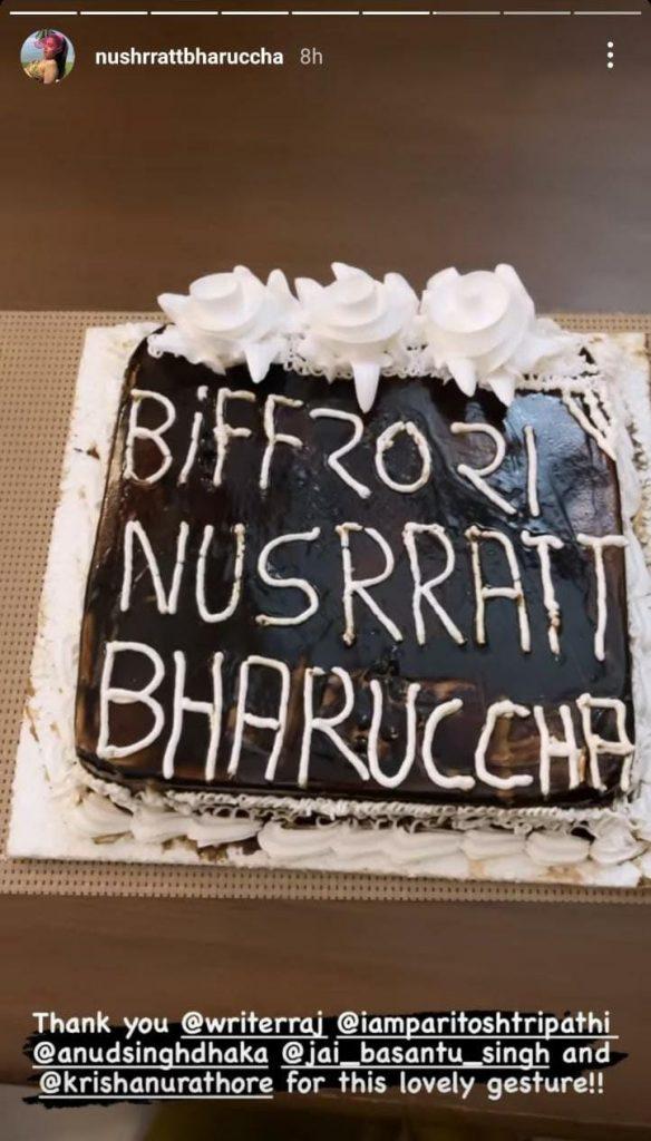 Nushrratt Bharuccha celebrates her Busan International Film Festival nomination